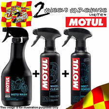 MOTUL E2 E3 E7 MOTO WASH WHEEL INSECT REMOVE CLEANER POLINI GP3 POCKET BIKE KIT3