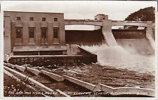 The Dam & Fish Ladder, Hydro Electric Scheme, PITLOCHRY, Perthshire RP