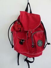 KIPLING Firefly small red nylon twill rucksack backpack 11""