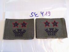 Italia armabzeichen nero su verde oliva bacchetta Ufficiale 1 PAIA (sk419)