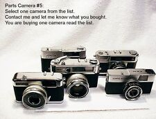 Various Brands Cameras for Parts #5 | From USA | $8.95 ANY ONE CAMERA  | Read |