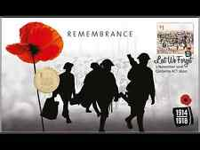2016 Remembrance Day $1one Dollar ANZAC Stamp & Coin Cover PNC-SOLD OUT ALREADY-