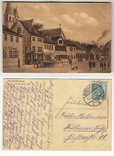 Nordhausen bei Ellrich, Pferdemarkt 1869 Künstler AK, gelaufen 1912