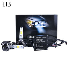 7200LM 80W H3 CREE LED Lamp Headlight Kit Car Beam Bulbs 6000k White 12V Upgrade