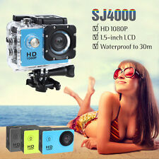 GOLDFOX SJ4000 Plus 1080P HD Mini Action Camera Sport DV Car Dash Camcoder