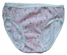Ladies Knickers size 10 - 12 UK Womens,New Value Pack of 3, Yellow, Peach & Pink