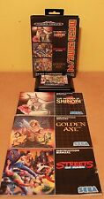 Mega Games 2 Sega Mega Drive 3 in 1 Golden Axe Streets of Rage Shinobi PAL CIB