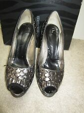 ROBERTO CAVALLI embellished platform Heels Pumps Shoes sz 7