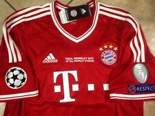 Germany bayern Munich Robben Uefa Final  jersey original trikot football shirt