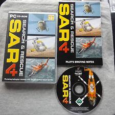 Ricerca e soccorso 4 SAR 4 PC-CD (Coastal Rescue Elicottero Simulazione di volo)