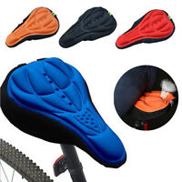 3D GEL Silicone Bike Bicycle Extra Comfort Saddle Seat Pad Soft Cushion Cover