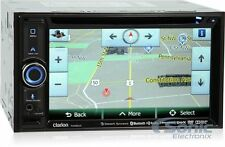 "Clarion NX604 Double-Din In-Dash Bluetooth DVD Car Stereo w/ 6.2"" Touchscreen"