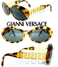 GIANNI VERSACE SONNENBRILLE 527/T GOLD MONDÄN VINTAGE BRILLE haute couture ETUI
