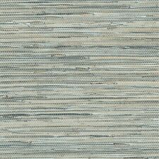 Blue Grey Faux Grasscloth Wallpaper NT33703