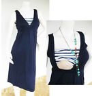 NAUTICAL Maternity Dress Breastfeeding Nursing Dress NAVY Maternity Clothing NEW
