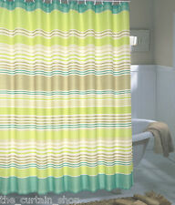 Brighton Extra Wide Printed Fabric Shower Curtain - 108 Inch by 72 Inch Bath