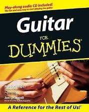 Guitar For Dummies paperback book FREE SHIPPING dummys chords electric acoustic