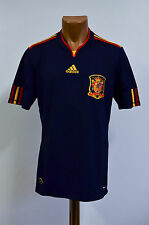 SPAIN 2010/2011 WORLD CUP AWAY FOOTBALL SHIRT JERSEY CAMISETA ADIDAS