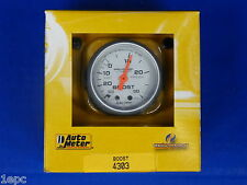 Auto Meter 4303 Ultra Lite Vacuum Boost Mechanical Gauge 2 1/16 30 In.Hg/ 30 PSI