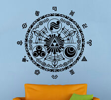 Legend of Zelda Wall Decal Gate of Time Vinyl Sticker Home Wall Art Decor (6zda)