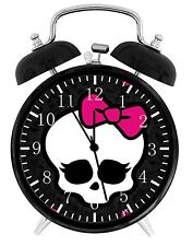 """Monster High Alarm Desk Clock 3.75"""" Room Decor W01 Nice for Gifts Wake Up"""