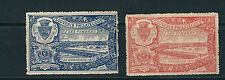 FRANCE 1907 BORDEAUX SOUVENIR PHILATELIQUE 2 different LABELS MNH *CINDERELLA*