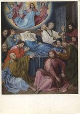 Alte Kunstpostkarte - Hugo van der Goes - Tod der Jungfrau Maria