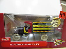 JOHNNY LIGHTNING COCA COLA WHITE LIGHTNING 1925 KENWORTH BOTTLE TRUCK SCALE 1:24