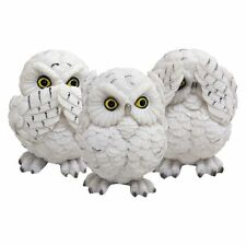 Three Wise Owls (Set of 3) Figurines By Nemesis Now