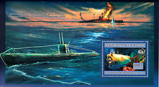 Guinea 2006 MNH Submarines 1v S/S Ships Boats Nautilus Wreck Titanic Stamps