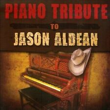 VARIOUS-Piano Tribute To Jason Aldean CD NEW