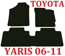 Toyota Yaris Tailored Car mats 5door & 3door hatch 2006 2007 2008 2009