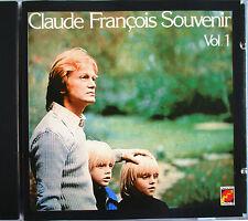 """CLAUDE FRANÇOIS - CD """"SOUVENIR - VOL.1"""""""