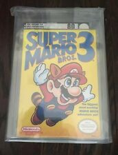 Super Mario Bros 3 VGA 80 Factory Sealed Nintendo NES Brand NEW NM RARE COPY