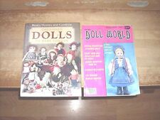 Cherished Dolls to Make for Fun (1984, Hardcover) & National Doll World Feb 1985