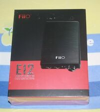 BRAND NEW FiiO E12 Mont Blanc Portable Headphone Amplifier