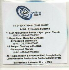 (503D) Syncopated Electric, Tear You Down in Piec DJ CD