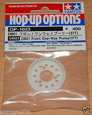 Tamiya 54023 DB01 Front One-Way Pulley (37T) (TRF416/TRF417/TRF418/TA05VDFII)