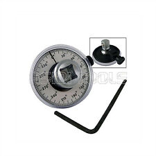 "1/2"" Dr Torque Angle Gauge Calibrated 360 Rotation Scale Gauge Meter Automotive"