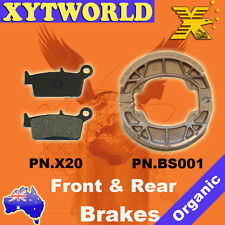 FRONT REAR Brake Pads Shoes for HONDA SRX 90 Shadow T/W/X 1997 1998 1999