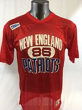 STANLEY MORGAN NEW ENGLAND PATRIOTS VINTAGE LOGO 7 JERSEY ADULT MEDIUM