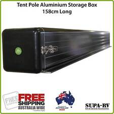 Caravan Pole Carrier Box 158cm Tent Pole Storage also suits Camper Trailers