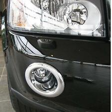 Chrome fog lamp light lamp cover trim Land Rover Freelander 2 LR2 front bumper