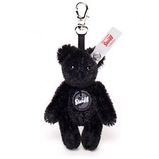 STEIFF Ltd Edition Fragment Japan Teddy bear Keyring charm Black 8cm EAN 678141
