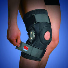 Sports Basketball Hiking Adjustable Hinged Leg Knee Injury Patella Brace Support