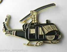 MEDIVAC HELICOPTER DUST-OFF BELL IROQUOIS HUEY LAPEL PIN BADGE 2 INCHES