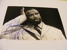 SELLO MAAKE  KA-NCUBE Signed Photo  Autograph Stage RSC Stage Actor South Africa