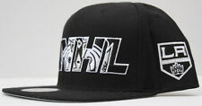 NHL Los Angeles Kings Mitchell & Ness NHL Insider Snapback - Black/Heather Gray