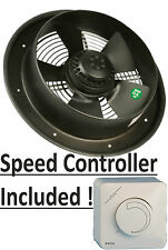 "Industrial Extractor Ventilador 10 "" / 250 mm, 240 V, 870m3/h, Rpm 1400"