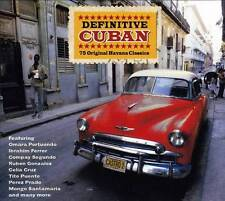 DEFINITIVE CUBAN - 75 ORIGINAL HAVANA CLASSICS (NEW SEALED 3CD)
